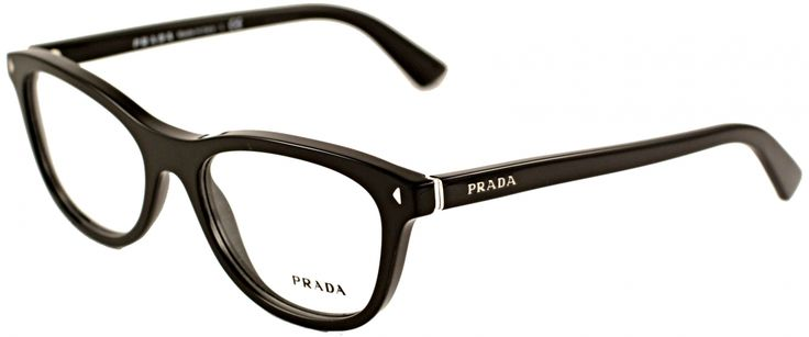 Prada PR05RV 1AB101 Black Designer Glasses