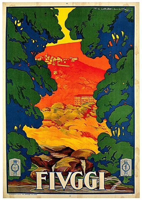 Vintage Italian Posters ~ #illustrator #Italian #posters ~ Fivggi