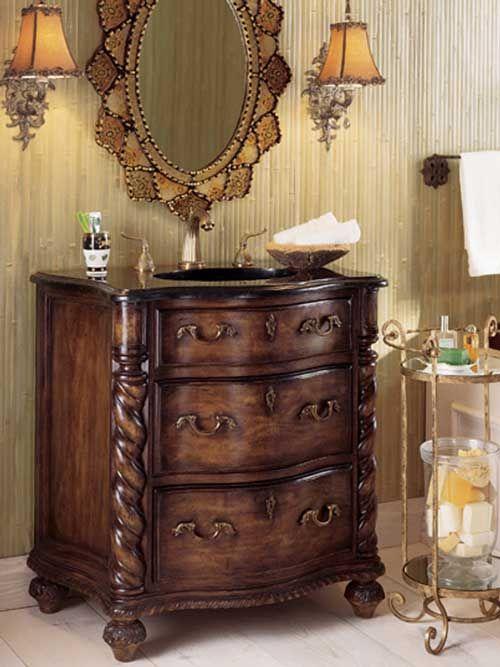 282 best antique vanities images on pinterest | bath vanities