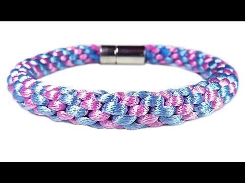"""DIY: Kumihimo blacelet / Браслет """"Кумихимо"""" из 8 нитей своими руками. Как сделать """"Кумихимо"""" диск. - YouTube"""