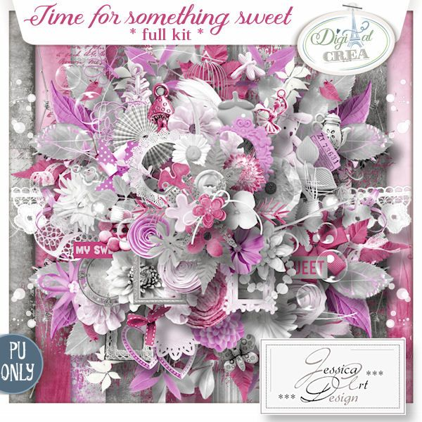 Time for something sweet * full kit * by Jessica art-design