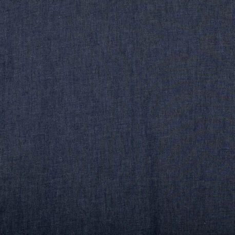 Tissu jean denim léger coton - Bleu brut