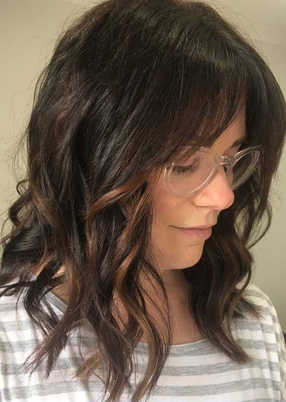 Best Face Framing Mid Length Haircut Ideas For 2018 Medium