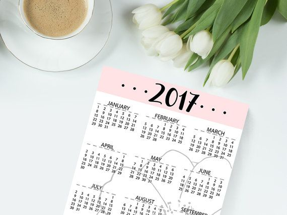 Hey, I found this really awesome Etsy listing at https://www.etsy.com/ca/listing/489716716/printable-planner-pages-2017-calendar