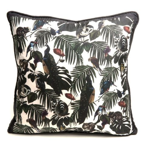 Amazonia Light Silk Cushion   Witch and Watchman