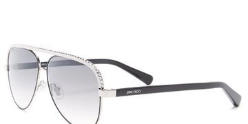 Get this amazing deal on a pair of  Jimmy Choo Women's Linas Aviator Sunglasses right now 79% off. Normally priced at $475.00 on sale for $99.97
