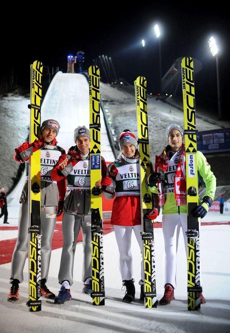 Franek i jego wędrówki: Stoch, Żyła, Kubacki i Kot wygrali drużynowe zawod...