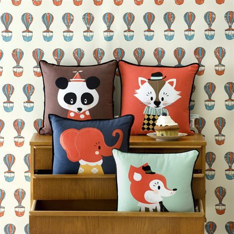Animal cushions from Ferm Living