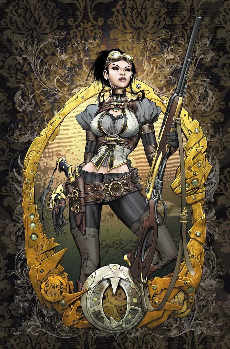 Lady Mechanika 0 Cover colors by joebenitez.deviantart.com on @deviantART
