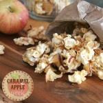 Caramel Apple PopcornDesserts, Brown Sugar, Caramelapples, Apples Chips, Apples Popcorn, Movie Night, Caramel Corn, Popcorn Recipes, Caramel Apples