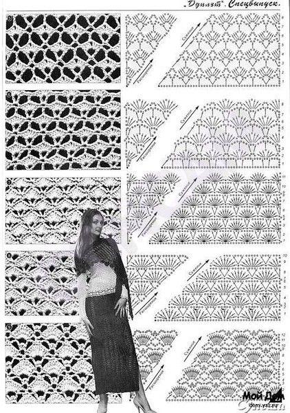 crochet lace poncho and cape | make handmade, crochet, craft
