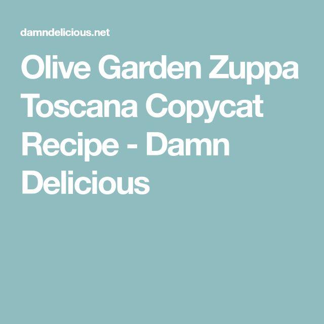Olive Garden Zuppa Toscana Copycat Recipe - Damn Delicious