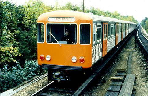 U-Bahn, Hamburger Hochbahn AG, 1962