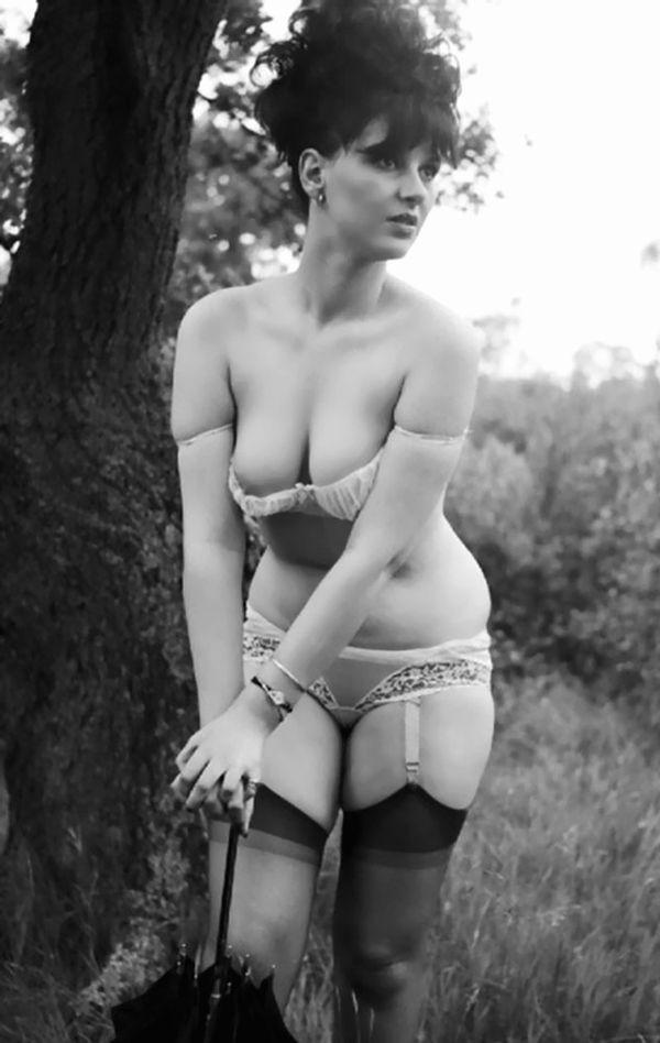 Antique erotica stockings