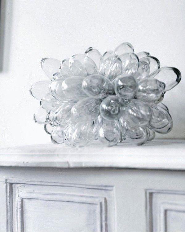 glass drop lamp, ( or great sculpture) design squish blog