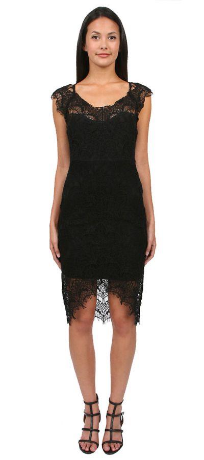Peekaboo Slip in Black by Free People. Fabric Content: Shell: 55% Nylon, 45% Cotton, Lining: 95% Cotton, 5% Spandex. http://zocko.it/LDlJt