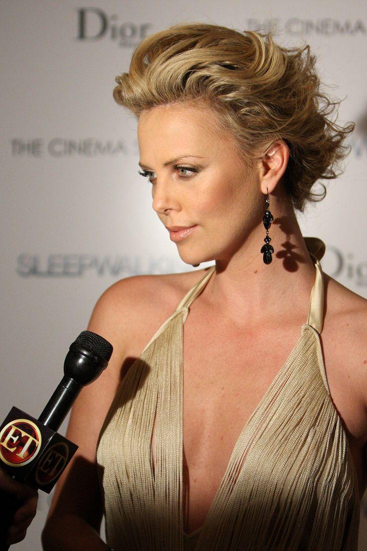 Dior by John Galliano, Jimmy Choo 'Idol' shoes - Charlize Theron - 'Sleepwalking' NY Premiere, 2008