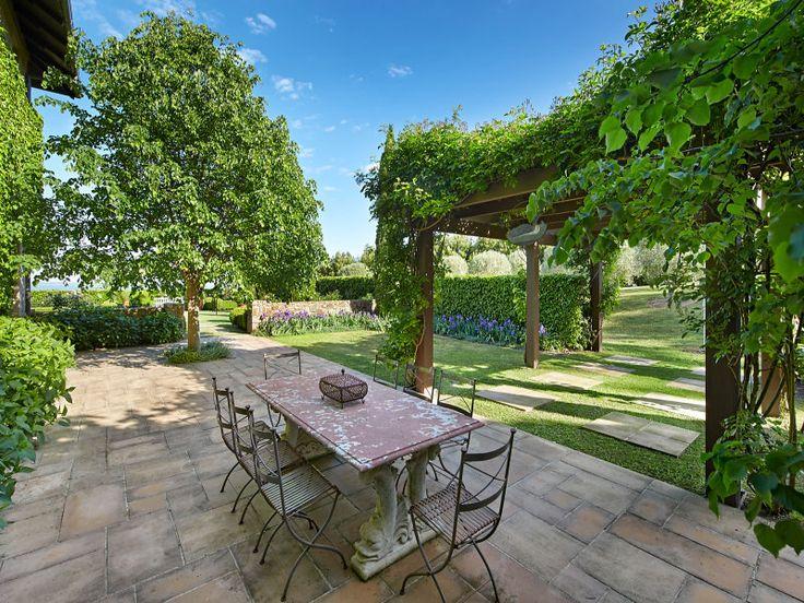 """Bagnols"" Shoreham, Vic. Paul Bangay Garden on 4.5 acres."
