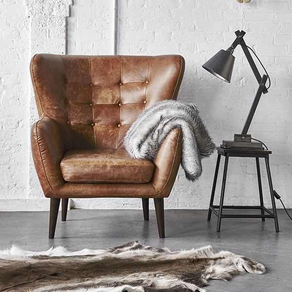 25 Bsta Leather Chairs Iderna P Pinterest Stol