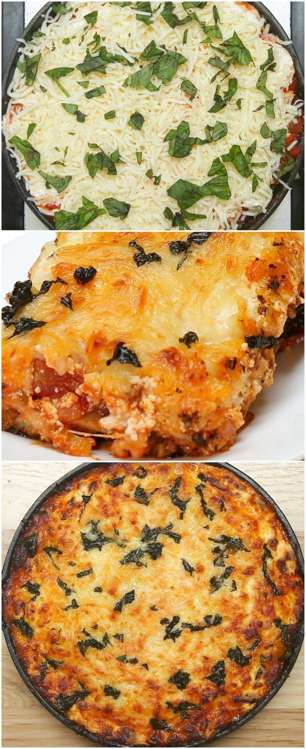 One-Pan Lasagna | This Recipe For One-Pan Lasagna Is Good AF