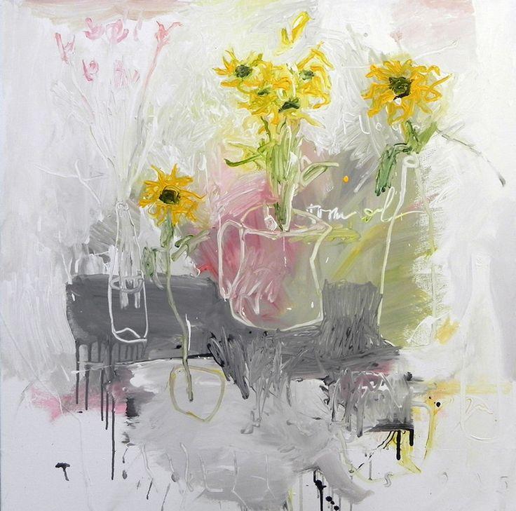 Des fleurs très jaunes, by Gopal Dagnogo