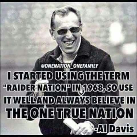 Raiders - The One True Nation -Al Davis                                                                                                                                                                                 More