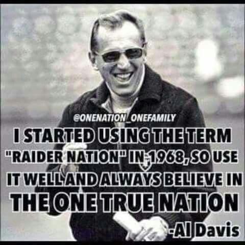 Raiders - The One True Nation -Al Davis                                                                                                                                                                                 More