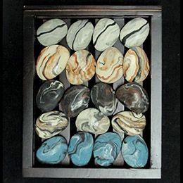 Natural stone soaps.