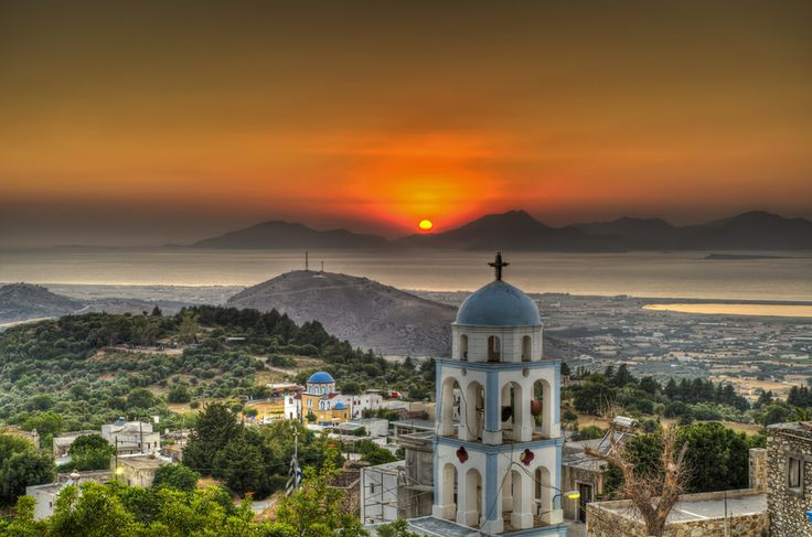 Kos island view..HDR by George Papapostolou