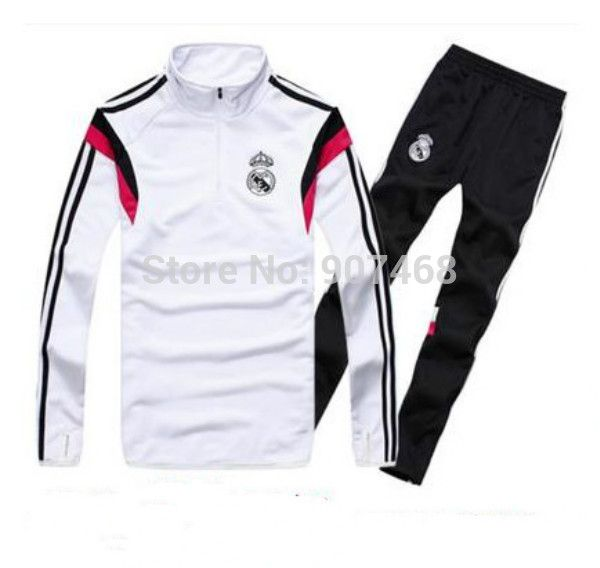Chandal Real Madrid Training Suit 2015 Top A+++ Thai Spain Maillot de Foot Survetement Football Real Madrid Training Tracksuit - http://www.aliexpress.com/item/Chandal-Real-Madrid-Training-Suit-2015-Top-A-Thai-Spain-Maillot-de-Foot-Survetement-Football-Real-Madrid-Training-Tracksuit/32240619736.html