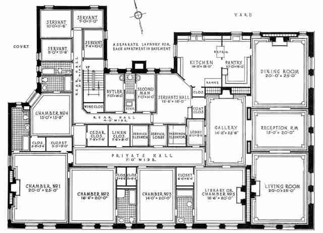 640 Park Avenue Large Floor Plan My Future Palace Floor