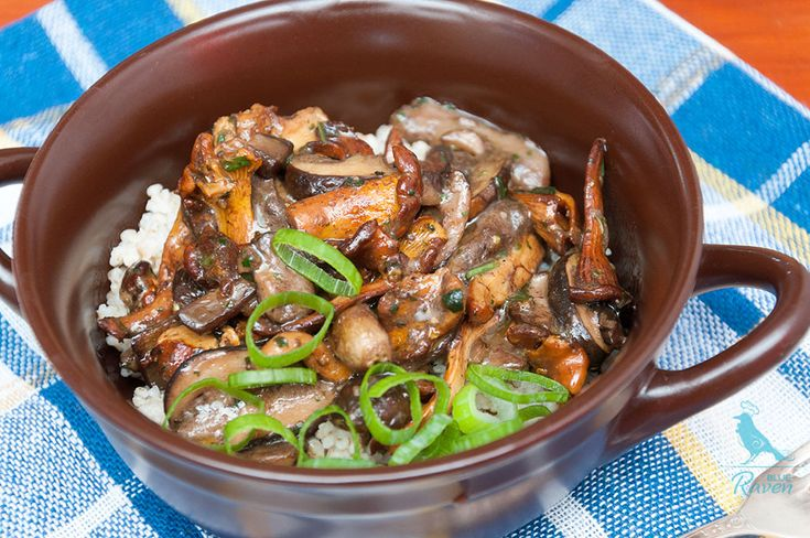 Vegan wild mushrooms stew – Cook with Blue Raven