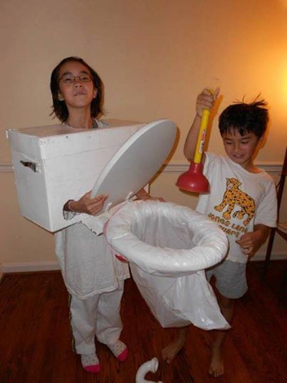 17 best images about funny plumbing pictures on pinterest for Easy homemade costume ideas for kids