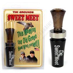 Tim Grounds Sweet Meet Hunting Duck Call Smoky Joe Hunters Reed and One Half NEW  $53.90