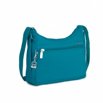 Hedgren Harper Shoulder Bag: Ocean Depths The harper's s shoulder bag has it all! durable material, functional compartments and beautiful design all rolled into one. Comes with a two year warranty.