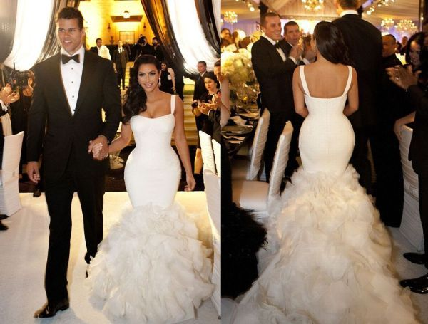 Best 25  Kim Kardashian Wedding Dress ideas on Pinterest ...