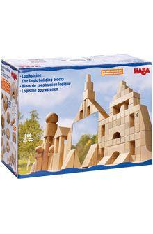 Inventori per bambini - Mattoncini logici - Mattoncini logici - Mattoncini + Labirinto a biglie - GIOCATTOLI & MOBILI