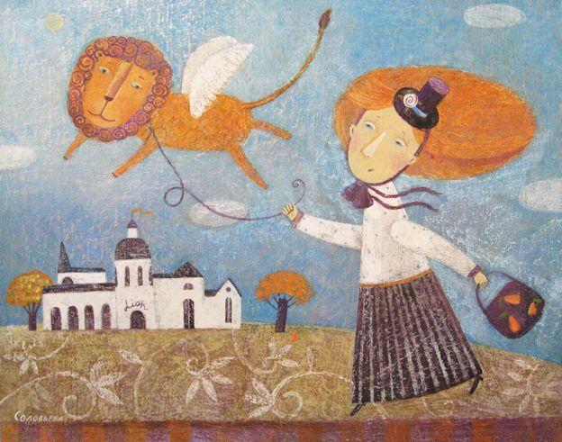 (+2) Графика и живопись Светланы Соловьевой