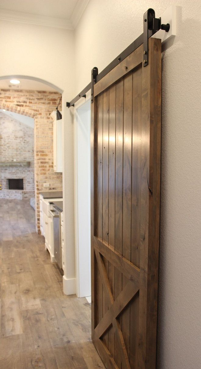 Best 20 barn doors ideas on pinterest for Sliding pantry doors