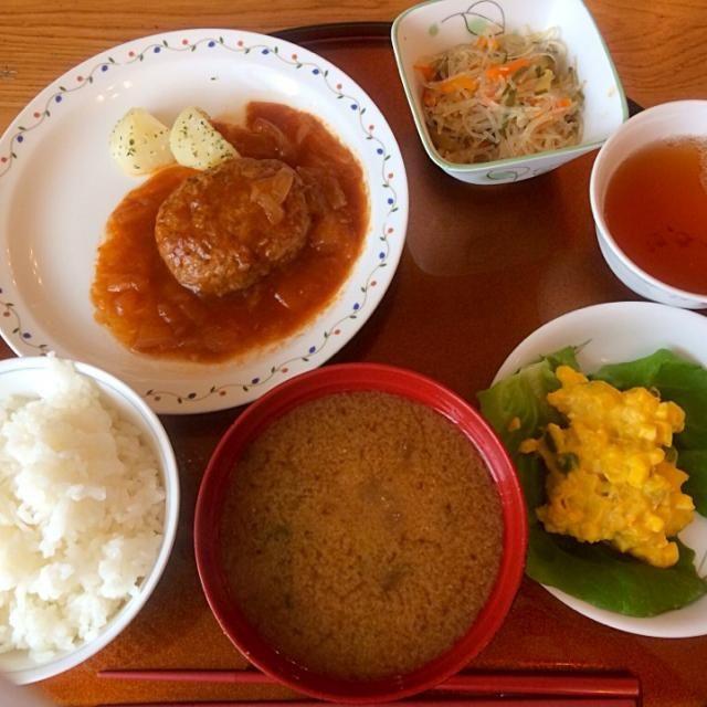 レシピとお料理がひらめくSnapDish - 19件のもぐもぐ - Hamburger Teisyoku Sey by Food Garden
