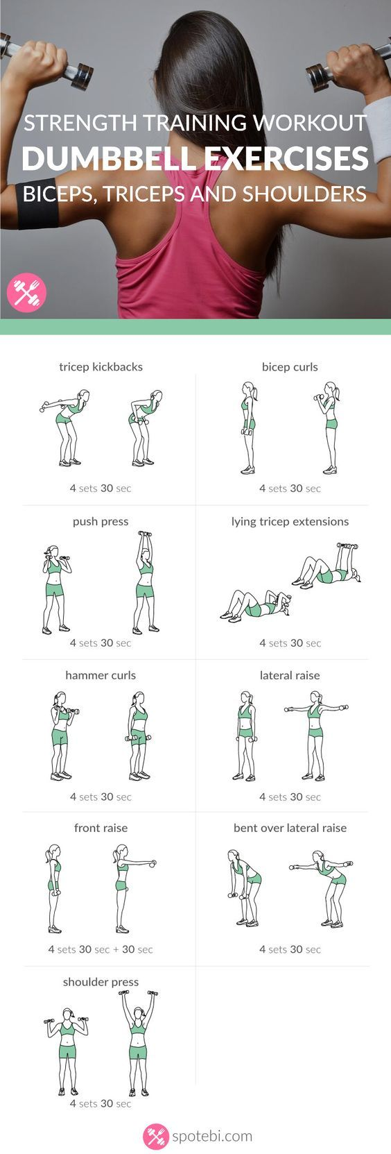 Build bigger biceps with this one trick Get rid of arm fat and tone sleek muscles with the help of these dumbbell exercises. Sculpt, tone and firm your biceps, triceps and shoulders in no time! www.spotebi.com/...: