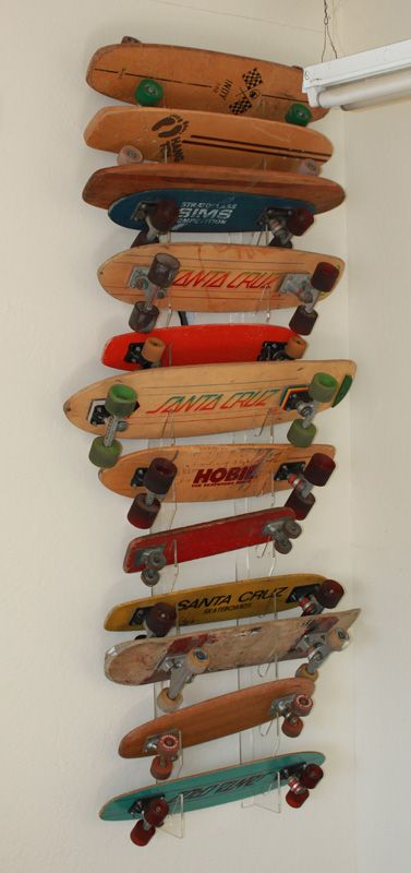 Old Skateboards - Santa Cruz - Hobie - Sims - Hang Ten