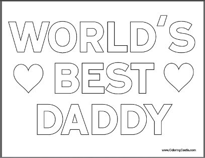 free fathers day coloring pages - free father 39 s day coloring pages for kids coloring day