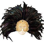 """Одежда ручной работы. Ярмарка Мастеров - ручная работа Венецианская маска """" С широко закрытыми глазами"""". Handmade."""