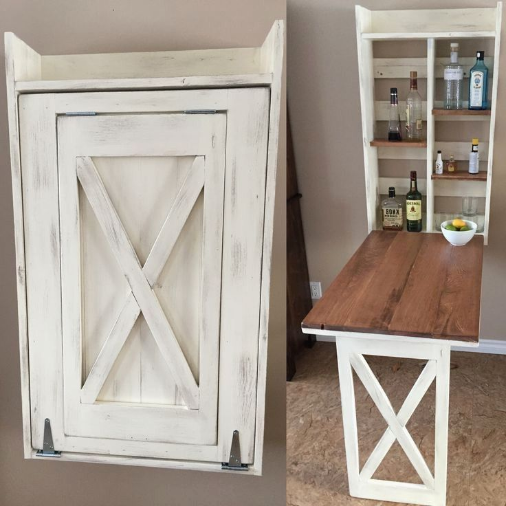 Fold Down Kitchen Table Lovely Ana White Drop Down Murphy Bar Diy