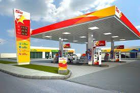 Sahara Petrol station
