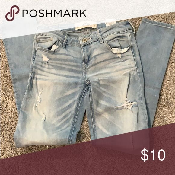 hollister ripped jeans ebay - 580×580