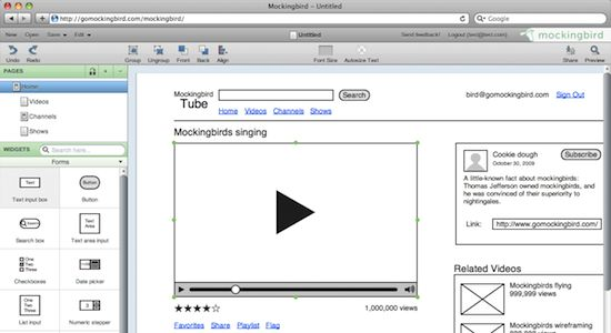 Mockingbird screenshot