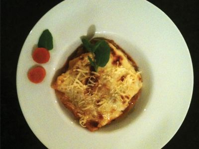 Salmon lasagne : Bingley Rural Magazine