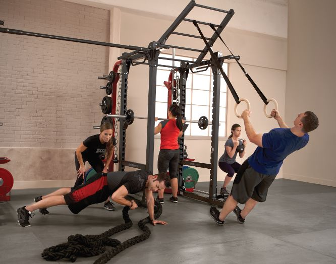 Add strength training to your HIIT workout.